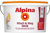Alpina Farben Wisch und weg Weiss 5 l