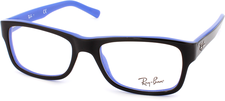 Ray Ban RX5268 5179 (top black on blue)