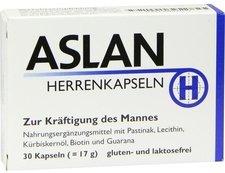 Aslan Herrenkapseln - Monatspackung (30 Stk.) (PZN 06897037)