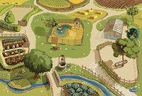 Papo Spielteppich Bauernhof (60501)