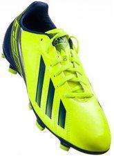 Adidas F10 TRX FG J electricity/metallic silver/hero ink f13