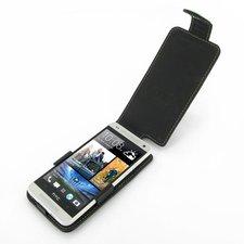 EIXO Ledertasche Flip Style für HTC One Mini