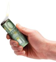 Donkey Products Burn your Euros Grillanzünder