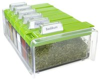 Emsa Spice Box Gewürzkartei grün
