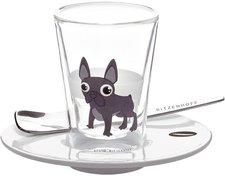 Ritzenhoff Espressoglas mit Untertasse Auge 2011