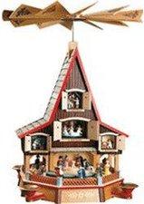 Richard Glässer Weihnachtspyramide Adventshaus
