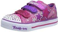 Skechers Twinkle Toes Shuffles - Triple Up pink/green