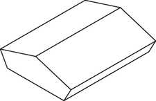 Osmo Forsdal Pfostenkappe BxTxH: 12,5 x 15 x 4,2 cm