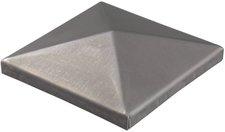 GAH Pfostenkappe für Metallpfosten, zum Anschweißen BxT: 80 x 80 mm
