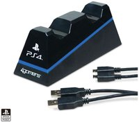 4Gamers PS4 Dual Charge 'n' Stand