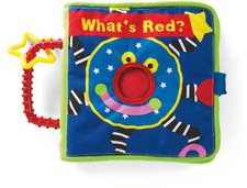 Manhattan Toy Whoozit What Is Red? Book