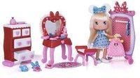 Famosa I Love Minnie - Schlafzimmer Spielset