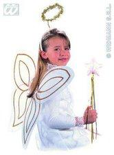 Widmann Kinderkostüm Engel mit Heiligenschein