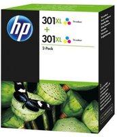 Hewlett Packard HP Nr. 301XL (D8J46AE) Farbe Doppelpack