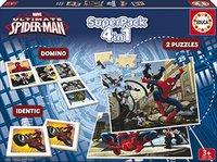 Educa Superpack Ultimate Spiderman 4 in 1