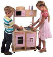 Mentari Spielküche aus Holz mit Rollen (268014)