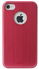 Puro Metal Cover pink (iPhone 4/4S)