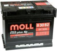 MOLL M3 plus K2 Doppeldeckel 12V 62Ah (83062)
