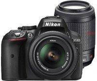 Nikon D5300 Kit 18-55 mm + 55-200 mm