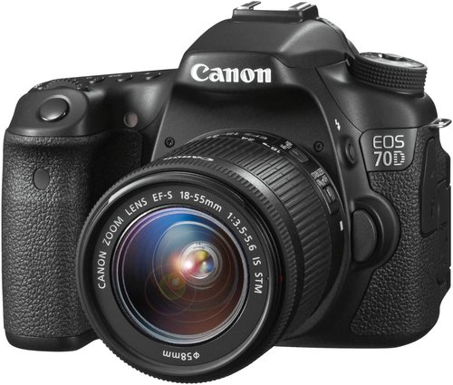 Canon EOS 70D Kit 18-55 mm