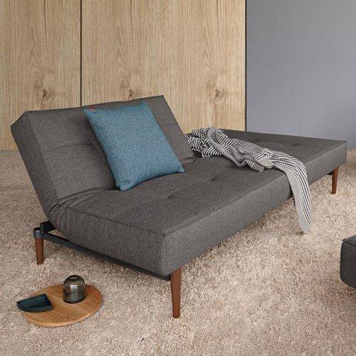 innovation splitback sofa kunstleder wood g nstig kaufen. Black Bedroom Furniture Sets. Home Design Ideas