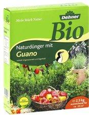 Dehner Bio Naturdünger mit Guano 2,5 kg