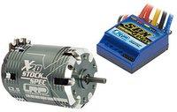 LRP Electronic BL Brushless Combo SPX Zero 80705/X20 13.5T 50844 StockSpec (81151)