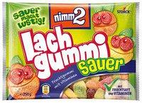 Nimm 2 Lachgummi sauer (250 g)