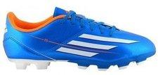 Adidas F5 TRX FG J solar blue/solar zest/running white