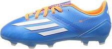 Adidas F10 TRX FG J solar blue/solar zest/running white