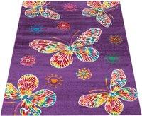 PHC Teppich Schmetterling - creme