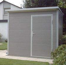 NWS Gartenhaus Pultdach 150 x 300 cm (Stahl)