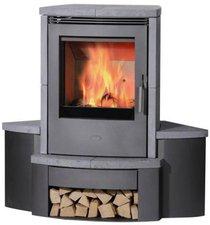 Fireplace Sitzbank für Kaminofen Passat Speckstein Eckversion