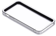just mobile AluFrame Bumper silber (iPhone 5)
