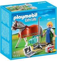 Playmobil City Life - Röntgentierarzt mit Appaloosa (5533)