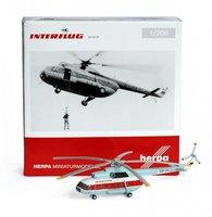 Herpa Interflug Mil Mi-8T (555784)