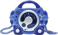 BigBen Karaoke CD Player mit zwei Mikrofonen