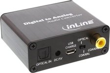InLine 65002K Audio-Konverter Digital zu Analog