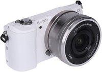 Sony Alpha 5000 Kit 16-50 mm (weiß) (ILCE-5000LW)