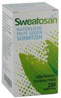 Novartis Sweatosan überzogene Tabletten (200 Stk.)