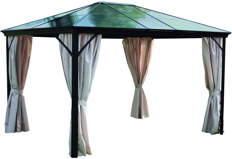 leco profi pavillon 3 x 3 65 cm preisvergleich ab 504 00. Black Bedroom Furniture Sets. Home Design Ideas