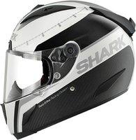 Shark RACE-R Pro Carbon Racing Divis weiß/schwarz/silber
