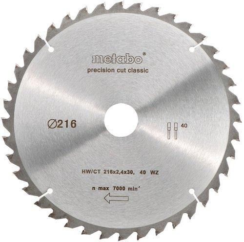 Metabo Kreissägeblatt Precision cut classic 216 x 2,4 x 30 mm (6.28060.00)