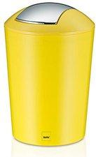 Kela Schwingdeckeleimer Marta gelb (5 L)