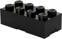LEGO Brotdose 1 x 8 schwarz