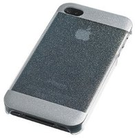 Celly Cover Glitty White (iPhone 4/4S)