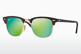 Ray Ban Clubmaster RB3016 114519 (sand havana-gold/grey-mirrored green)