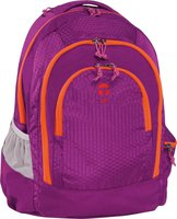 Take It Easy Schulrucksack Berlin Nylon Lila