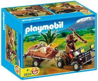 Playmobil 4834 Wilderer Quadgespann