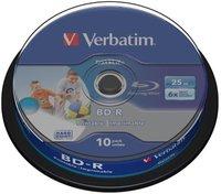 Verbatim BD-R 25GB 10er Spindel 43804